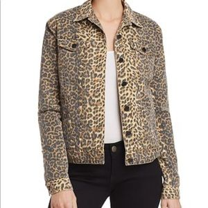 ATM Anthony Thomas Melillo Leopard Jean Jacket
